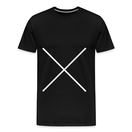 tee-shirt with cross - T-shirt Premium Homme