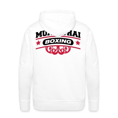 MuayThaiBox - Mannen Premium hoodie