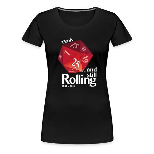 Dame 4 - Dame premium T-shirt