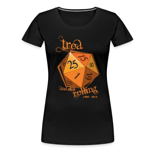 Dame 3 - Dame premium T-shirt