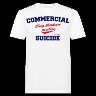 T-Shirts ~ Männer Bio-T-Shirt ~ Positive Shirt White
