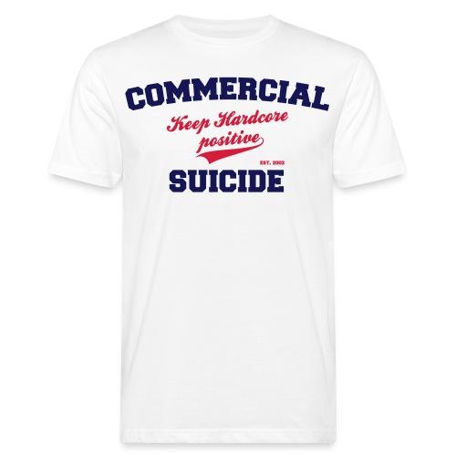 Positive Shirt White - Männer Bio-T-Shirt