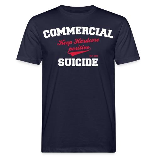 Positive Shirt navy - Männer Bio-T-Shirt