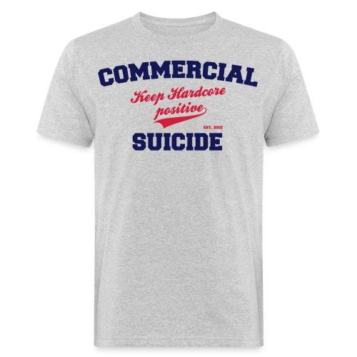 Positive Shirt Grey - Männer Bio-T-Shirt