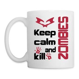 Keep calm and kill zombies mug - Mug