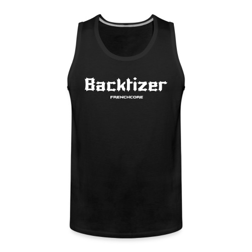 Backtizer Tank Top Male - Men's Premium Tank Top