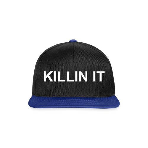 killin it snapback  - Snapback Cap