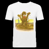 T-Shirts ~ Männer Slim Fit T-Shirt ~ Artikelnummer 30518677