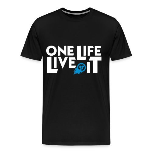 One life , live it - Premium-T-shirt herr