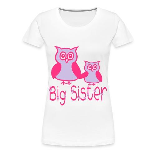 big sister t shirt - Women's Premium T-Shirt