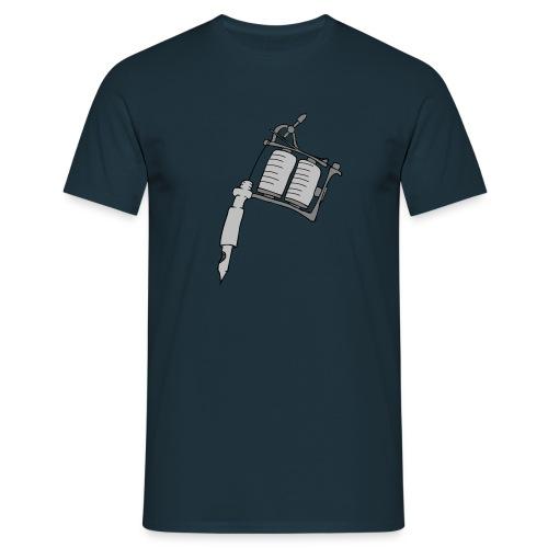 Tatoo gun - Männer T-Shirt