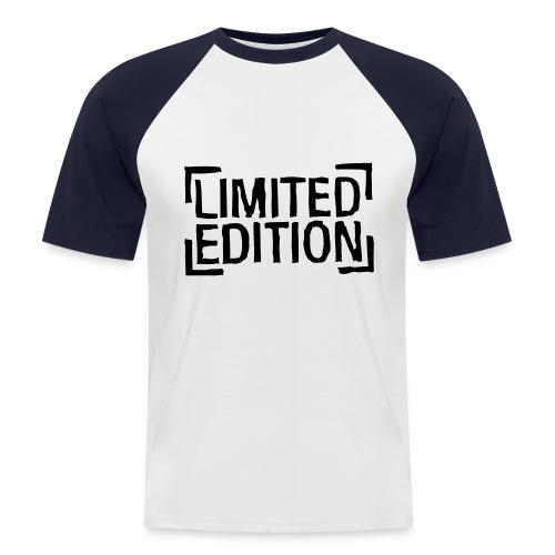 Kortærmet herre-baseballshirt - Kortærmet herre-baseballshirt