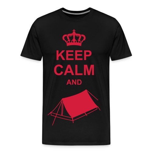 Camper T-Shirt - Miesten premium t-paita