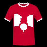 T-Shirts ~ Männer Kontrast-T-Shirt ~ Artikelnummer 30034599