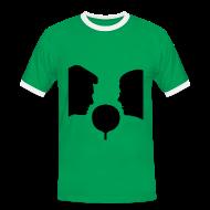 T-Shirts ~ Männer Kontrast-T-Shirt ~ Artikelnummer 30034609