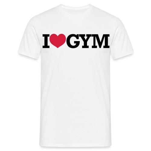 I Love Gym - Männer T-Shirt
