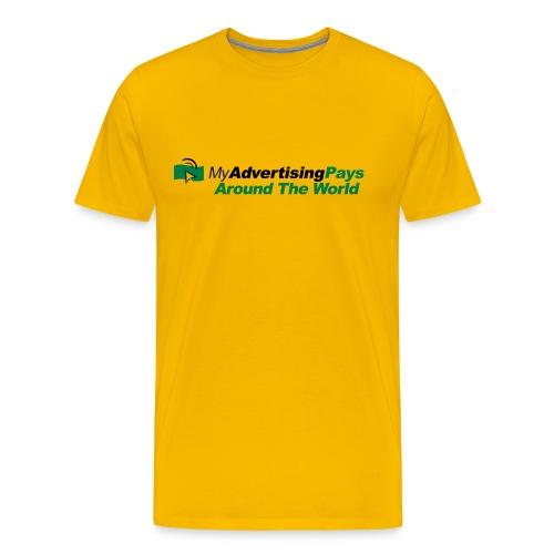 My Advertising Pays T-Shirt Herren - Männer Premium T-Shirt