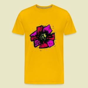 Pink Sunflower - Men's Premium T-Shirt