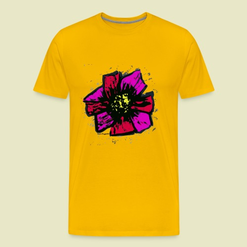 Pink Sunflower - Men's Premium T-Shirt
