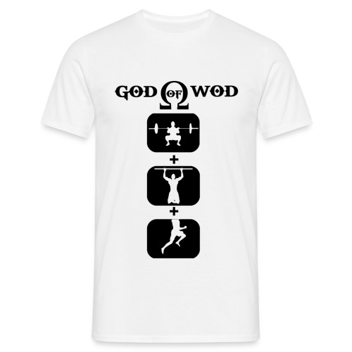 T-shirt God Of Wod-Non Moulant - T-shirt Homme
