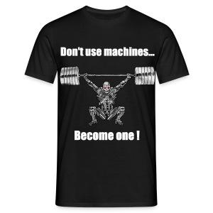 T-shirt Robot Devant - Non Moulant - T-shirt Homme