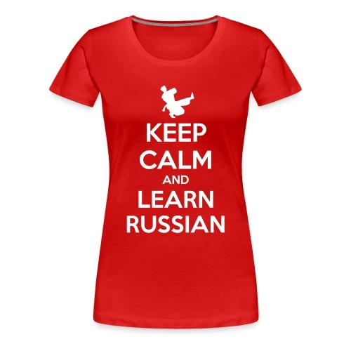 Keep Calm T-Shirt Donna  - Maglietta Premium da donna