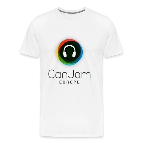 CanJam Europe - shirt male white - Men's Premium T-Shirt