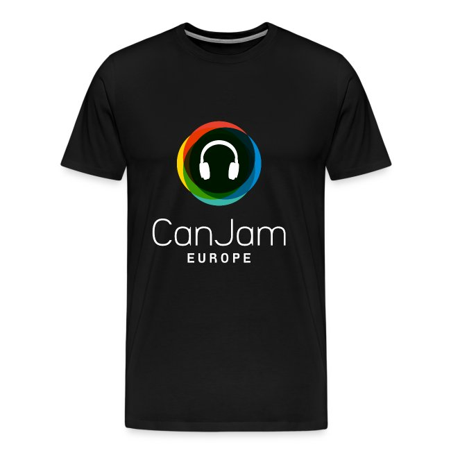 CanJam Europe - shirt male black