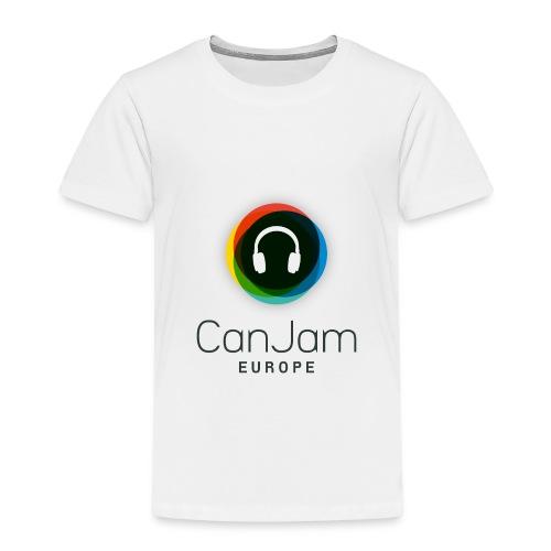 CanJam Europe - shirt kid/teen (logo bk) - Kids' Premium T-Shirt