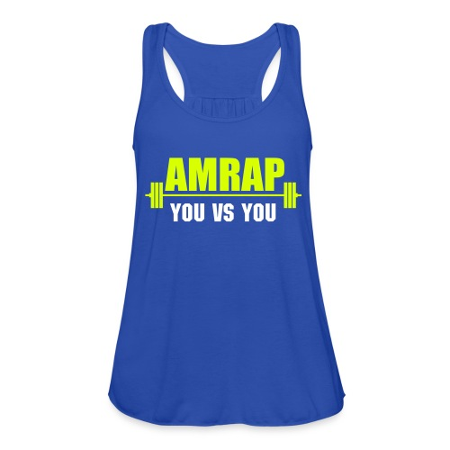 AMRAP As Many Reps As Possible - Women's Tank Top by Bella