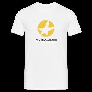T-Shirts ~ Männer T-Shirt ~ MOM Shirt White