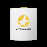 Tassen & Zubehör ~ Tasse zweifarbig ~ MOM Studio-Cup White
