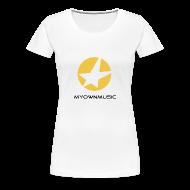 T-Shirts ~ Frauen Premium T-Shirt ~ MOM Girl-Shirt White