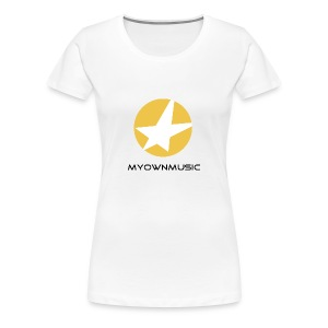 MOM Girl-Shirt White - Frauen Premium T-Shirt