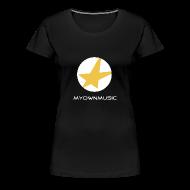 T-Shirts ~ Frauen Premium T-Shirt ~ MOM Girl-Shirt Black