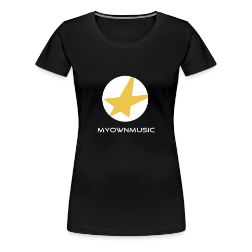 MOM Girl-Shirt Black - Frauen Premium T-Shirt