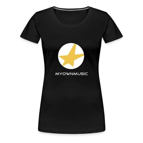 MOM Girl-Shirt Black - Frauen Premium T-Shirt