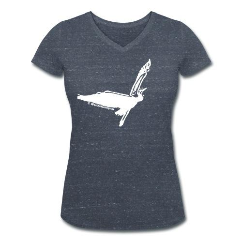 Fernweh - Frauen Bio-T-Shirt mit V-Ausschnitt von Stanley & Stella