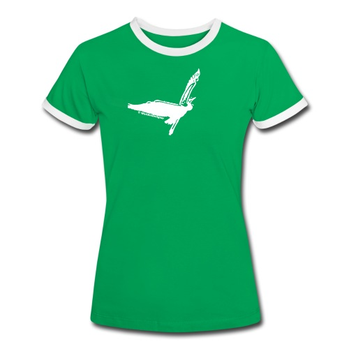 Fernweh - Frauen Kontrast-T-Shirt