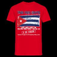 T-Shirts ~ Men's T-Shirt ~ TimbaParaSiempre Regular Fit Men - Red
