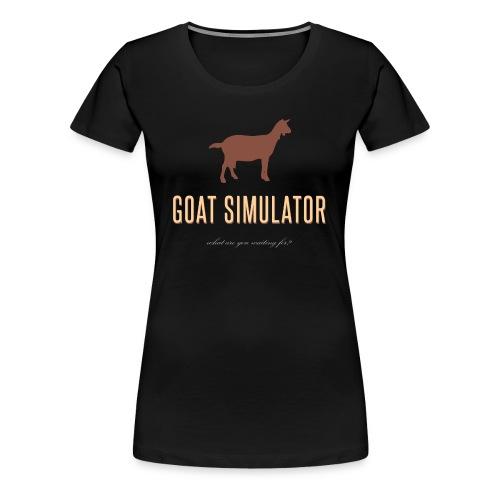 Goat Simulator T-Shirt - Women's Premium T-Shirt