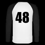 Langarmshirts ~ Männer Baseballshirt langarm ~ Artikelnummer 30067629