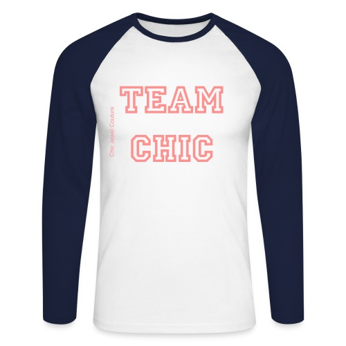 Team Chic Baseball long sleeved t-shirt - Men's Long Sleeve Baseball T-Shirt