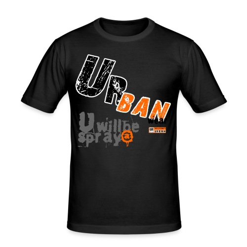 Urban Standard - Camiseta ajustada hombre