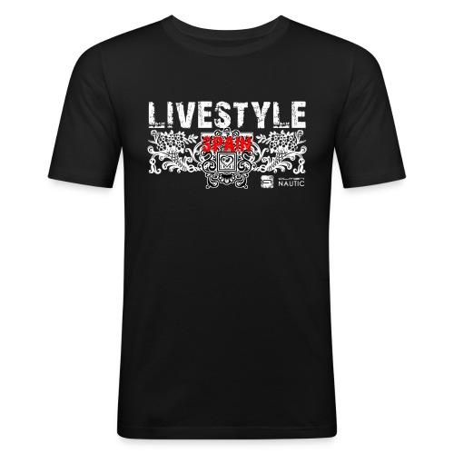 ALMEN Lifestyle - Camiseta ajustada hombre