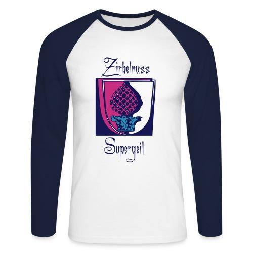 Zirbelnuss - Männer Baseballshirt langarm