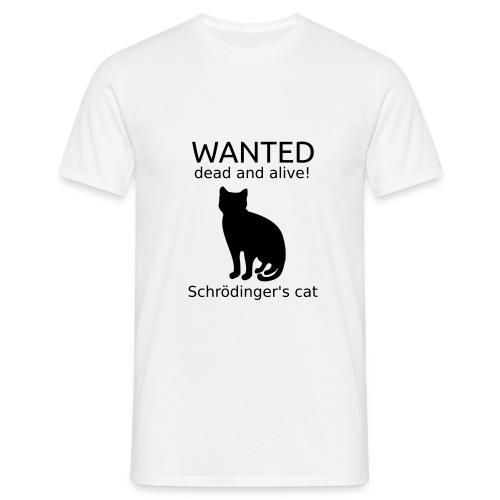 Schrodinger's Cat T-shirt - Men's T-Shirt