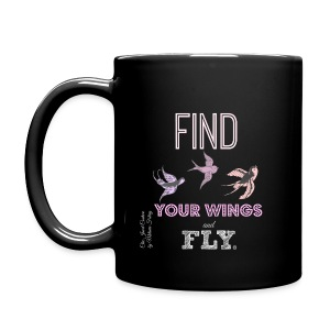 Find your wings and fly Mug - Full Colour Mug
