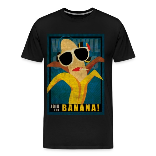 T-SHIRT JOIN THE BANANA - Men's Premium T-Shirt