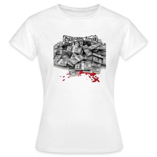Girl's T-shirt GRODA Money & Blood - T-shirt Femme